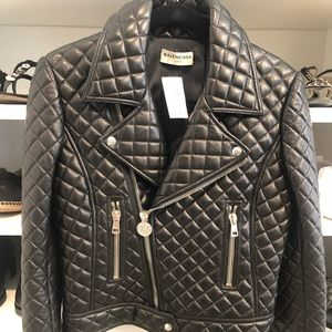 Balenciaga Quilted Leather Jacket!